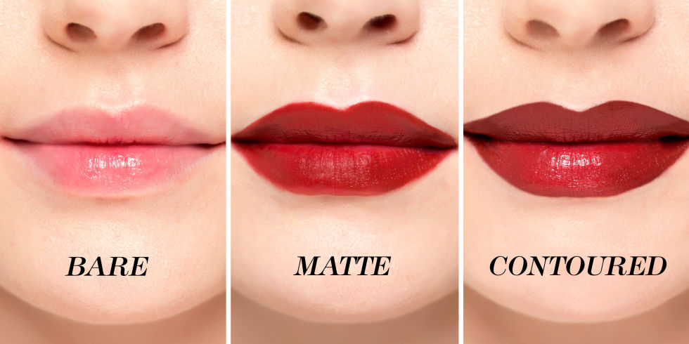 Lipstick on Different Lips Color
