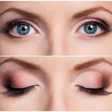Bulging eyes Makeup