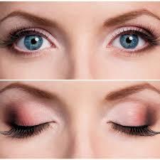 Bulging eyes Makeup