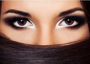 Close set eyes Makeup