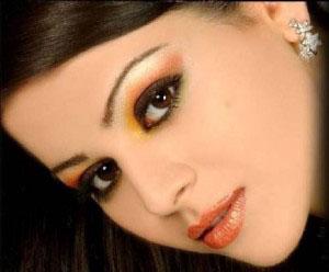 Gujarati Bridal Make-up and Reception Make-up. Make-up