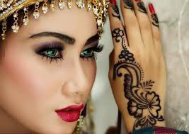 Gujarati Bridal Make-up and Reception Make-up.