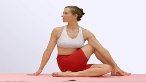 Obesity-Lose Weight-Ardhamatsyendrasana-Vajrasana-Benefits of Yoga for Diabetes
