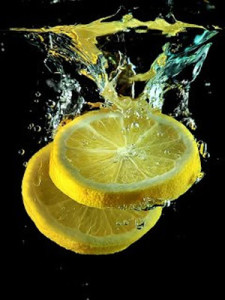 Lemon Juice and Eau DE Cologne