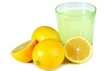 Lemon juice and Boric Acid