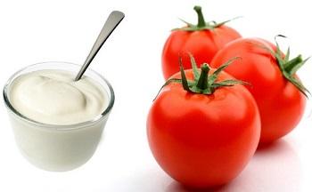 Tomato and Yoghurt