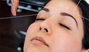 Forehead Threading