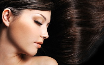 Glossy Shiny Hair and Blemishes free Skin