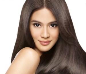 Healthy Silky Hair