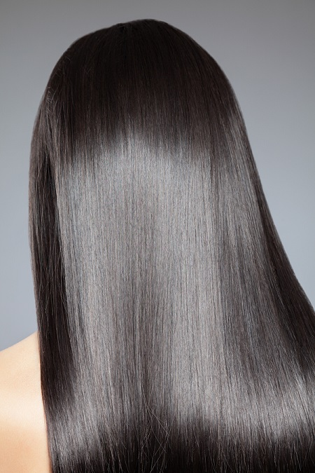 Healthy and Silky Hair