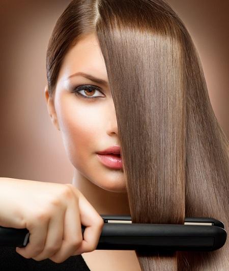 Permanent Hair Straightening Method