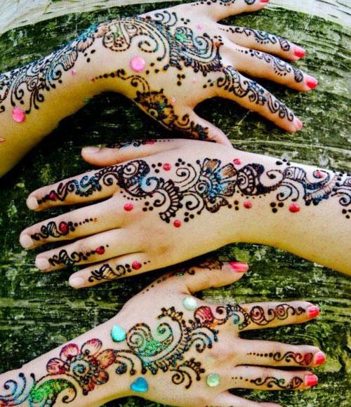 Mirror Work Henna