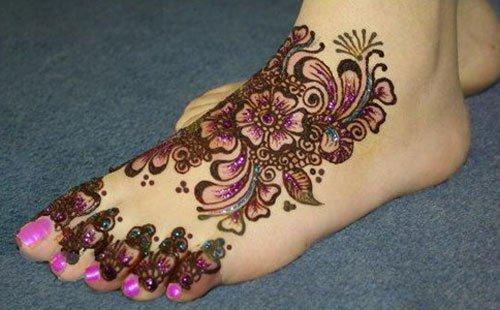 Nail-Polish Henna