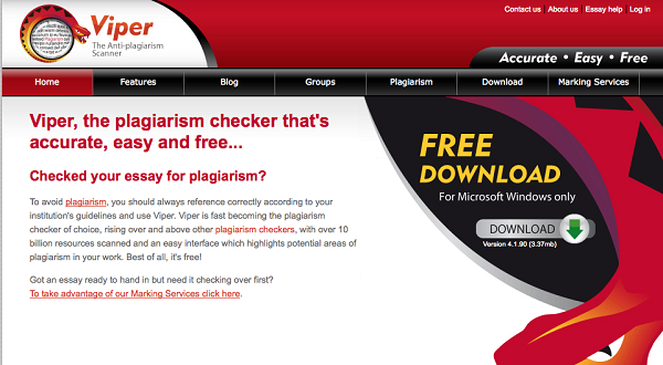 Viper anti-plagiarism