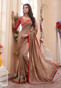 How to Wear a Saree-Bengali Saree Style-Devdas Variation Saree Style-Wrap-around Saree Styles