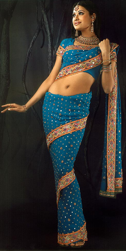 wrap-around-saree-styles