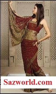 burmese-saree Style