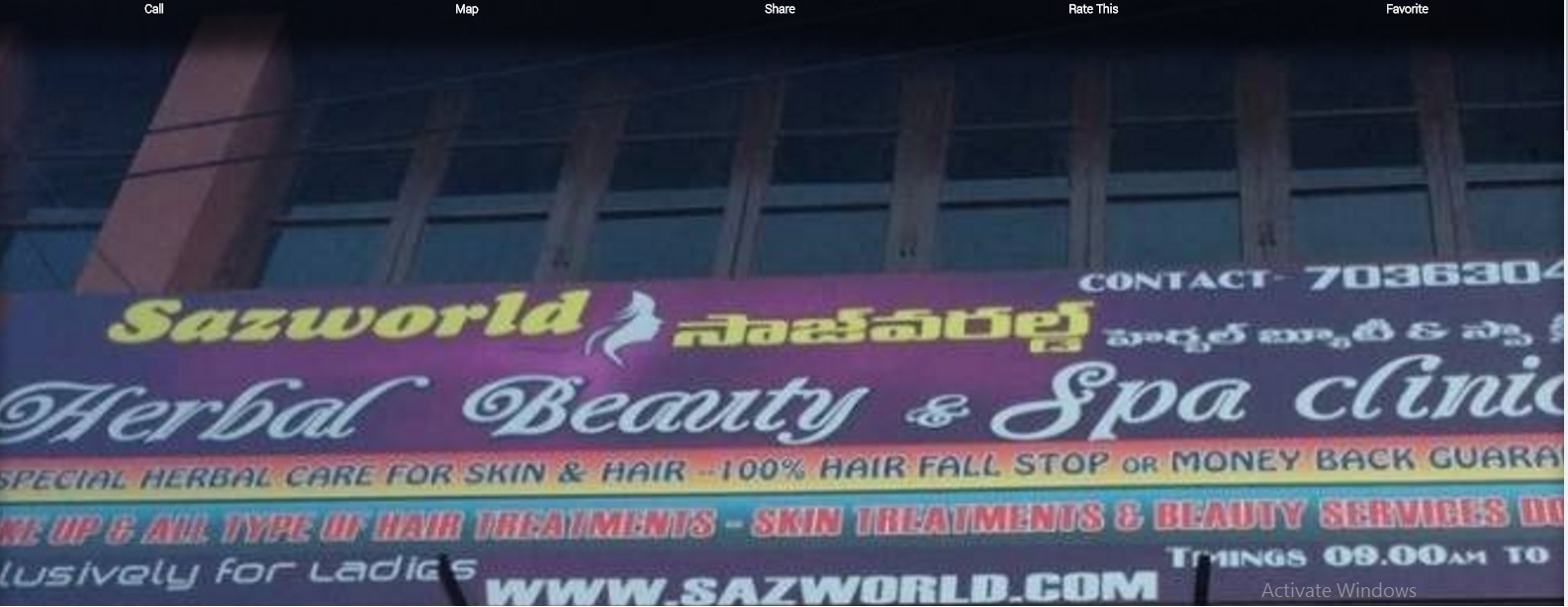 sazworld Herbal Beauty Clinic