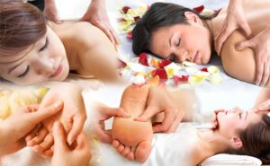 Body Massage-Secret of Beauty-Touch-Rubbing-Pressing-Shaking-Patting
