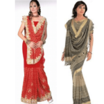 Waterfall Saree