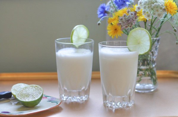 Milk And Lime Juice